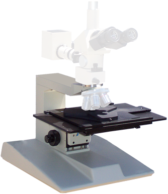 "6"", 8"", 12"" microscope stage and stand upgrades using your optics"