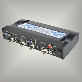 DCG-200M and DVPG Digital Crosshair Generators with optional split screen and dual camera switcher
