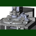 Motorized wafer and die inspection systems