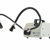 Gooseneck fiber optic light guides with Sta-Put positioning
